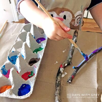fun painting idea for kids