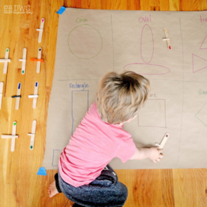 Fly In Your Shapes – Toddler Shape Matching