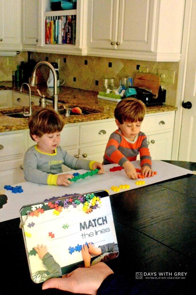 preschool activity cards