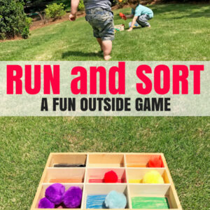 Outdoor Math Game