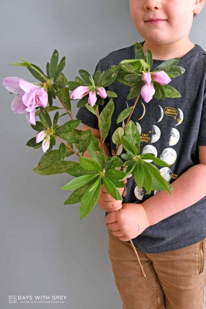 flower for teacher gift
