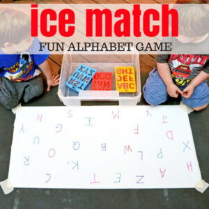 Fun Alphabet Ice Game