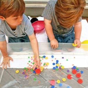 Simple Sensory Play to Engage Child-Led Learning