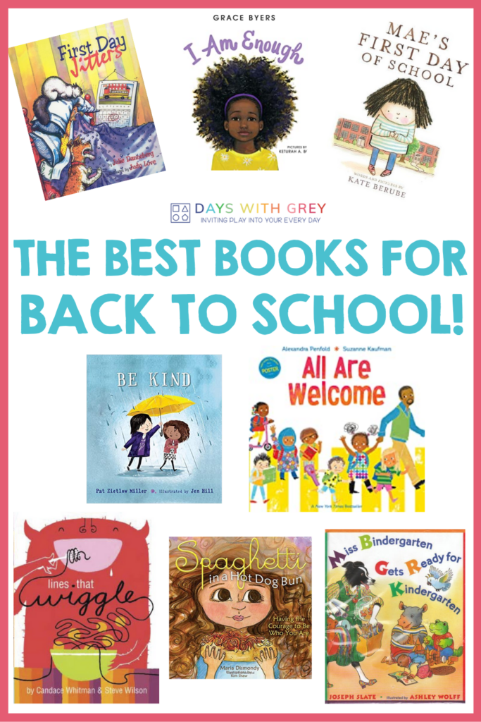 40 books for first day of school