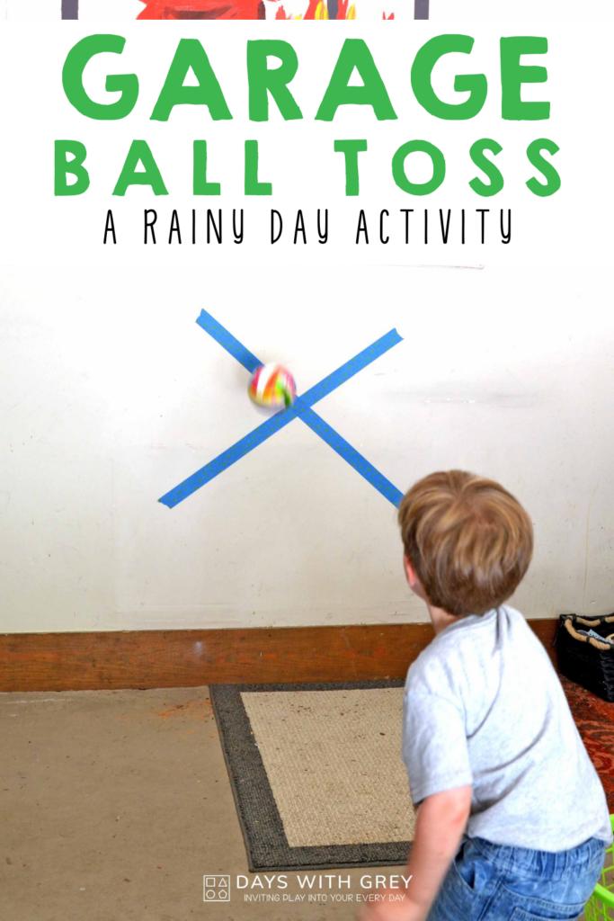 rainy day activity for kids