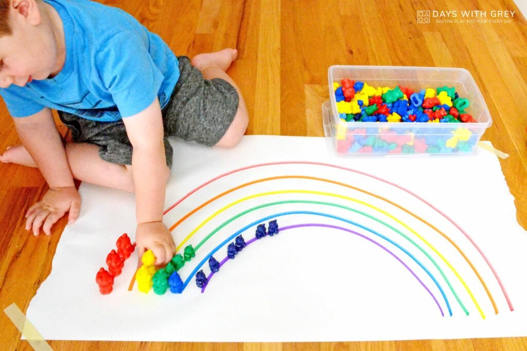 color fine motor activity