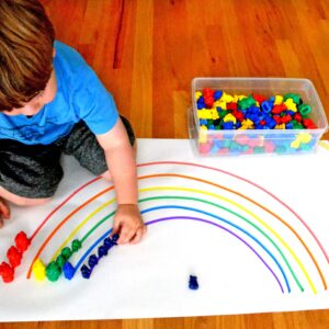 A Colorful Prewriting Activity