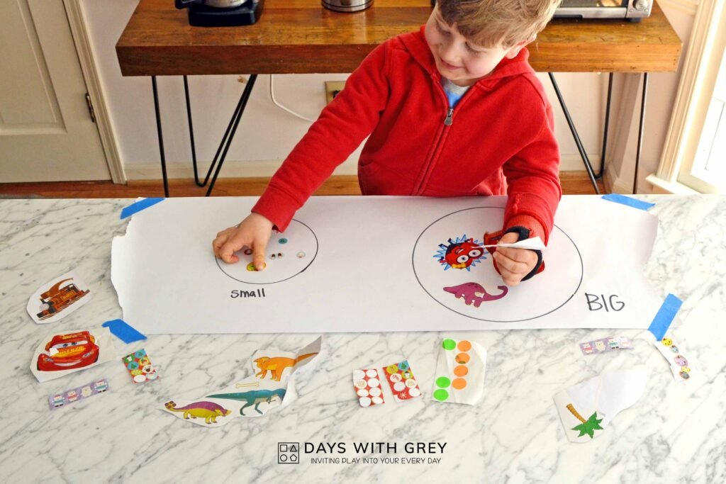preschool math activity