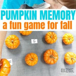 Memory Alphabet Game for Fall