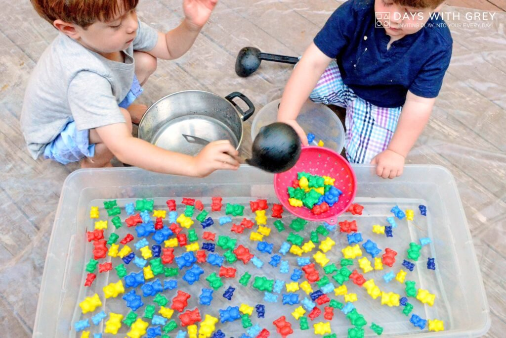 water table play for kids