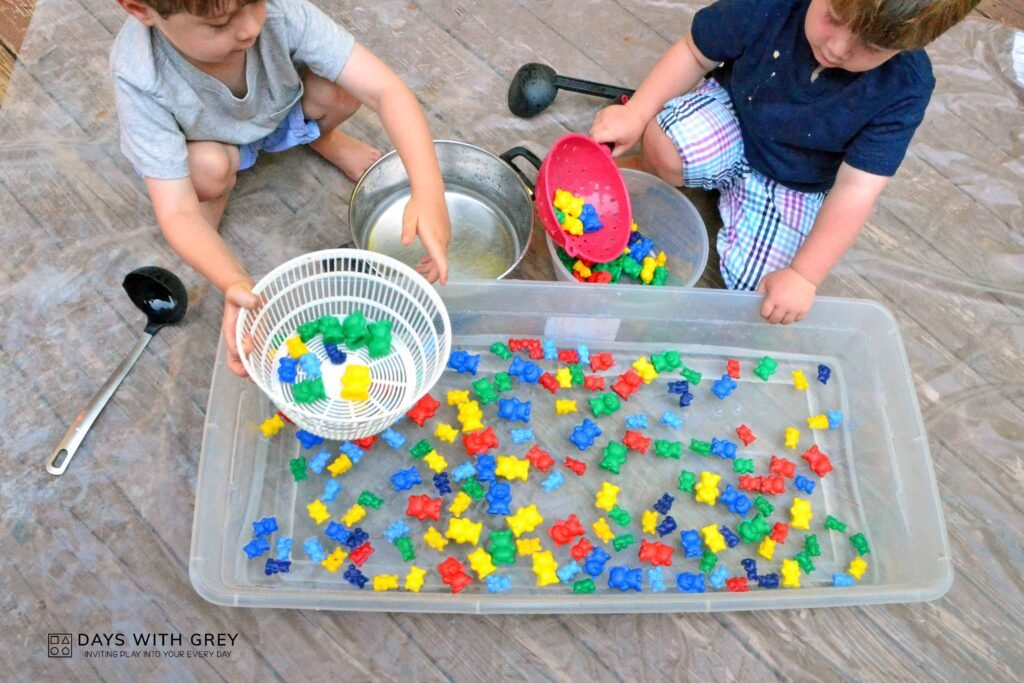 water table idea for kids