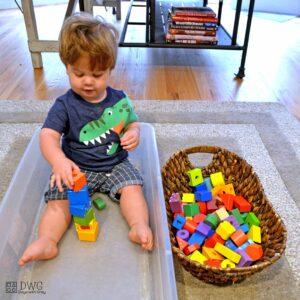 Baby Block Box