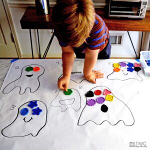 Count the Eyes – A Number Activity for Preschool