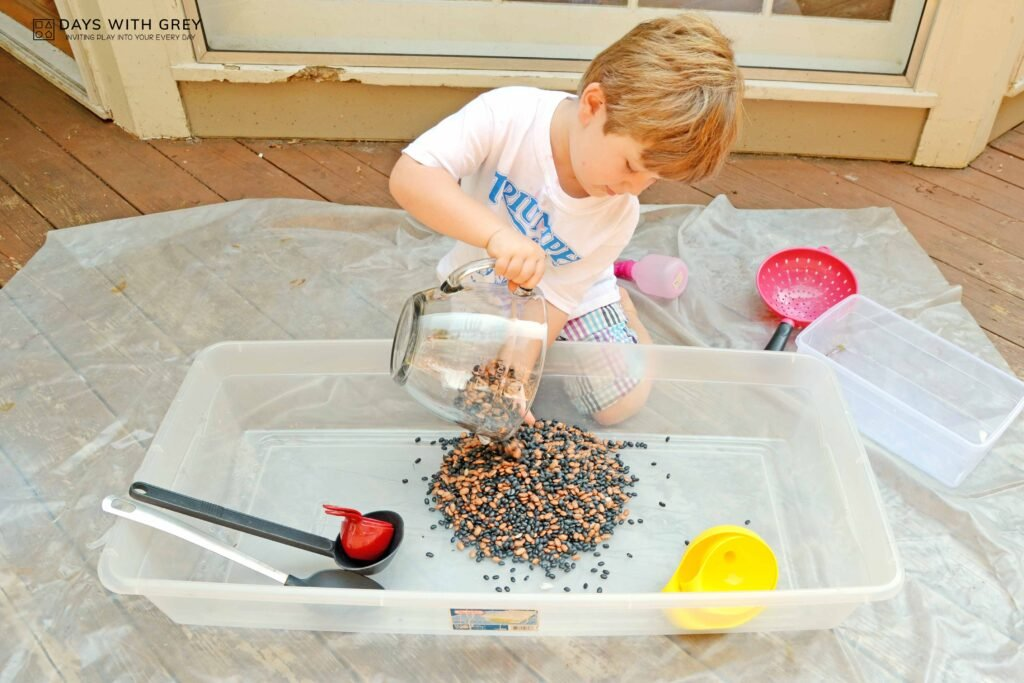 sensory play for preschool