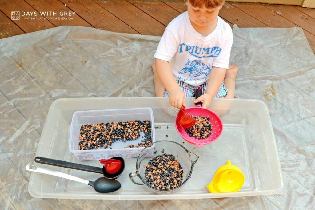 preschool sensory play