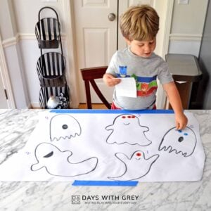 A Halloween Counting Activity