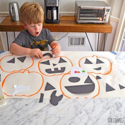 preschool pumpkin activity
