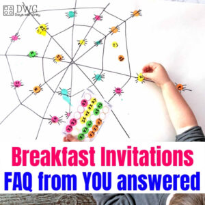 Your Breakfast Invitations Questions Are Answered!