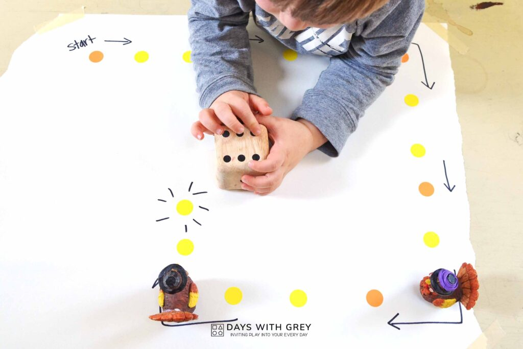 thanksgiving math activity for preschool