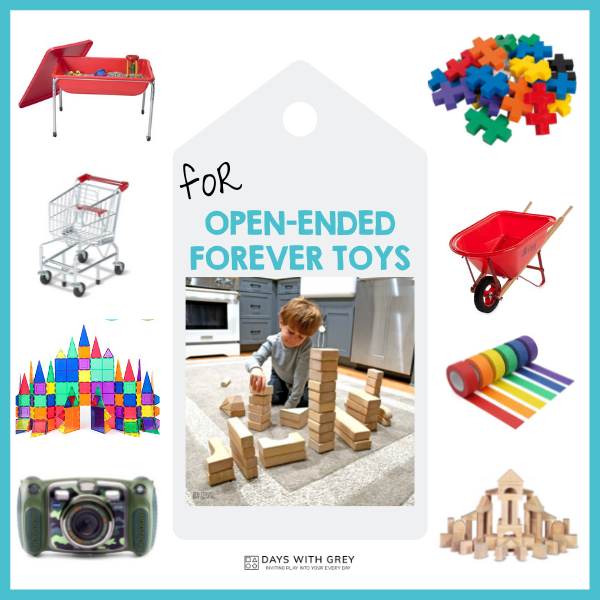 open ended toys for kids