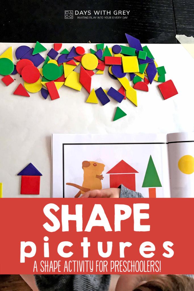shape activity for preschoolers