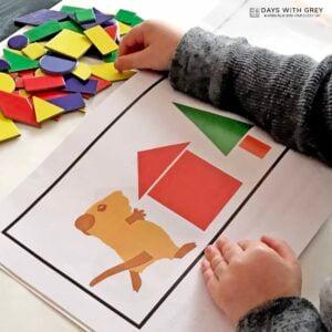 Shape Pictures – A Fun Shape Activity for Preschoolers