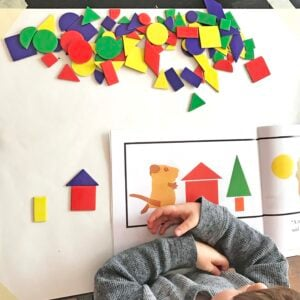 Shape Pictures – A Fantastic Shape Activity for Preschoolers