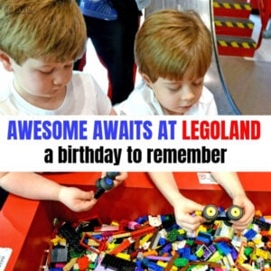 Boy's Birthday Party at LEGOLAND