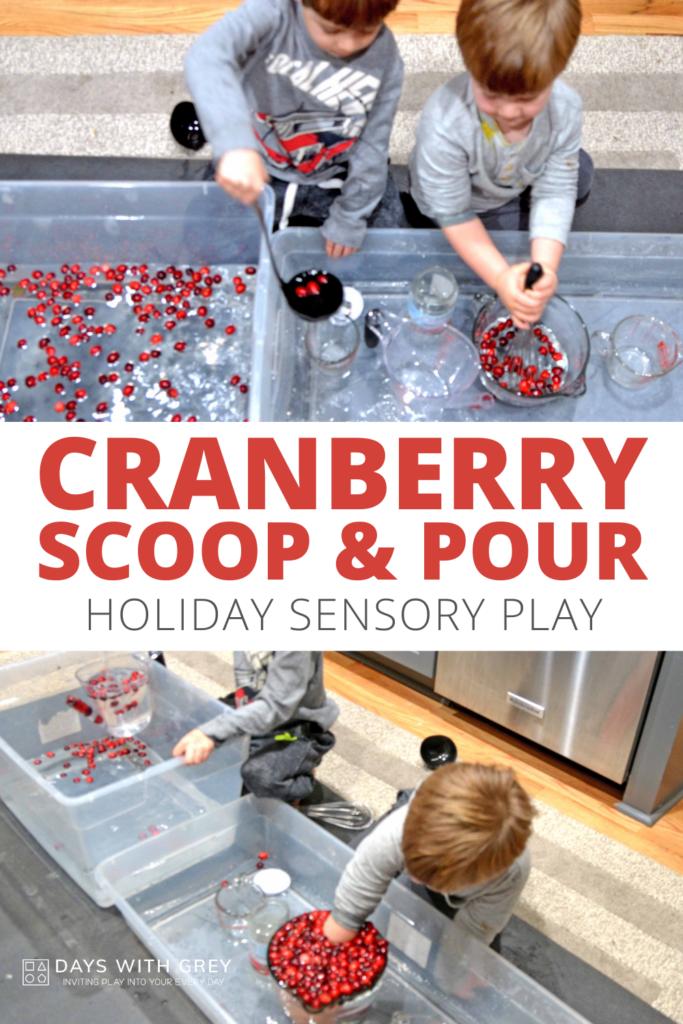 cranberry scoop