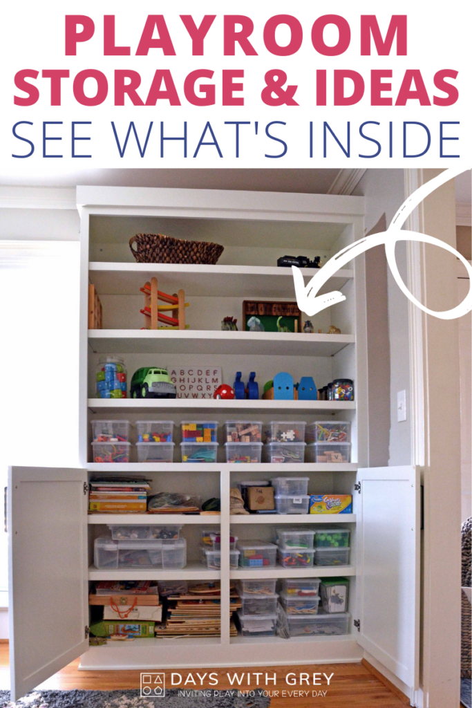 Playroom ideas, storage, and play space design