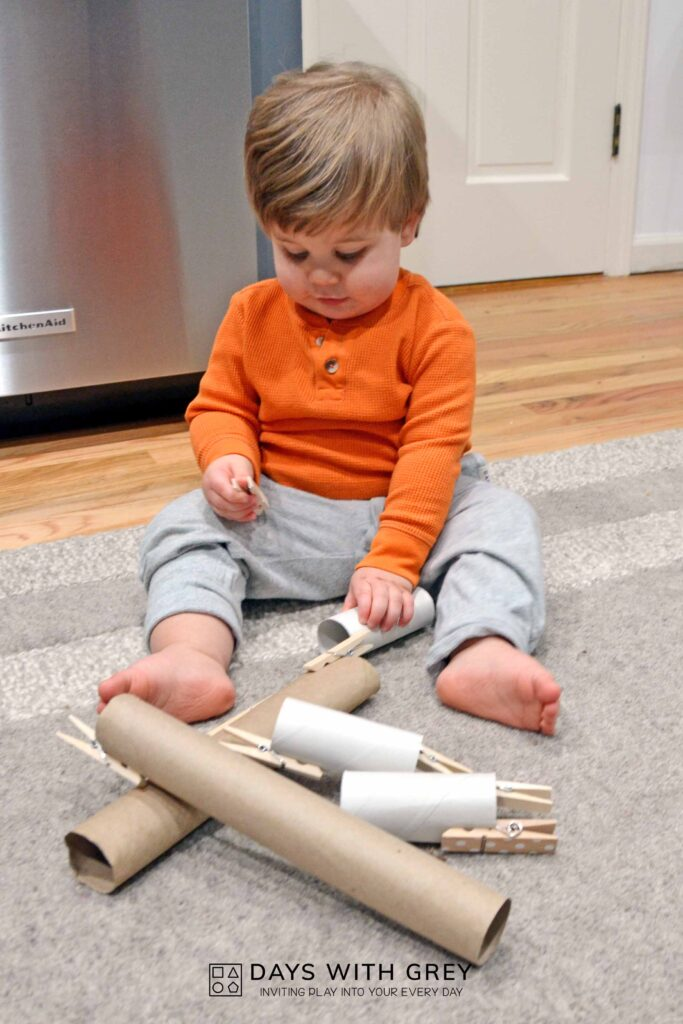 clothespin pull for toddlers