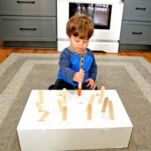 Fine Motor Game for One-Year-Olds