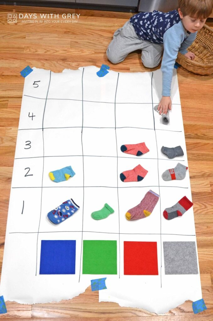 color sorting and graphing