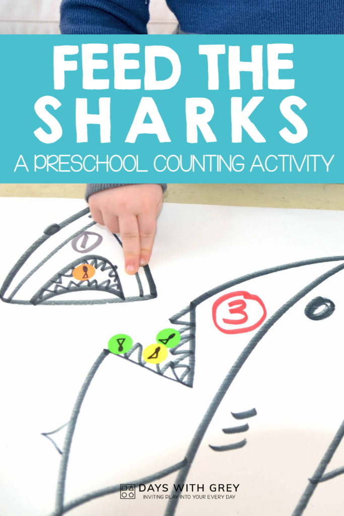 counting activity with stickers