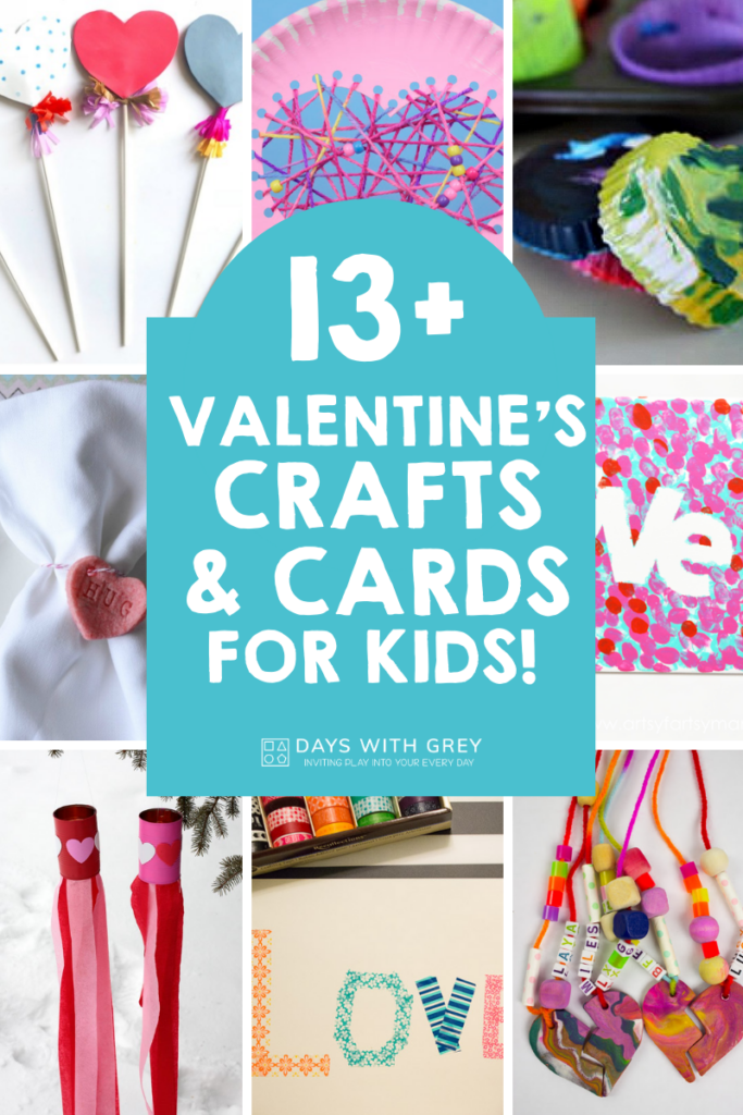 Valentine's crafts and cards