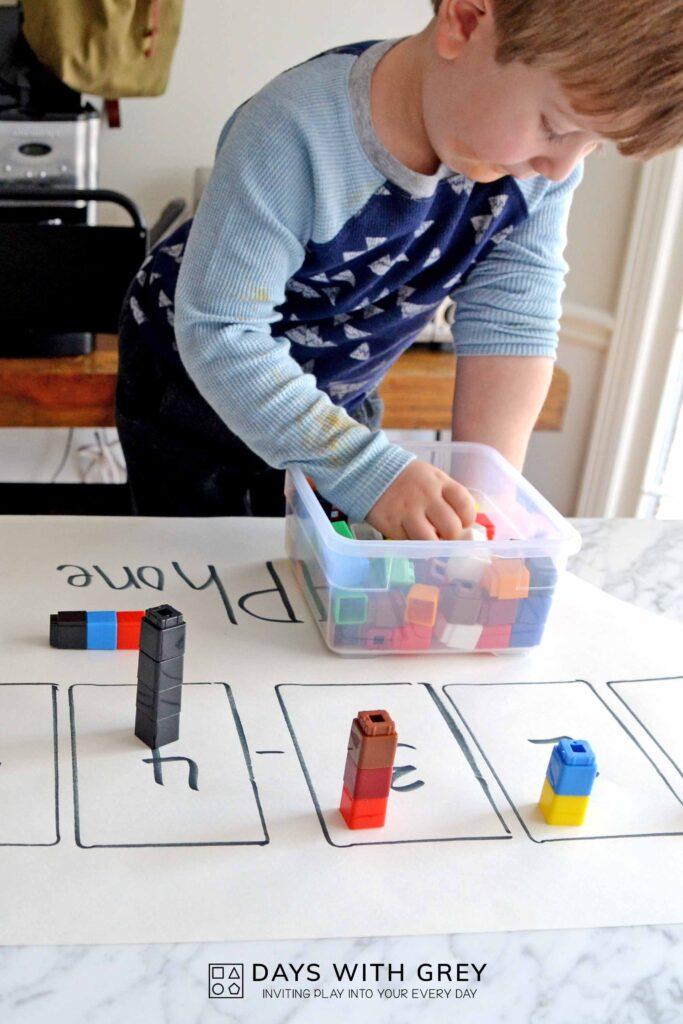 preschool number activity