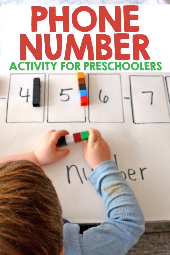 number activity