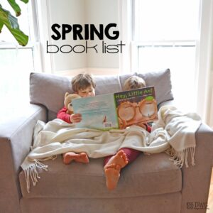 The Sweetest  Spring Book List