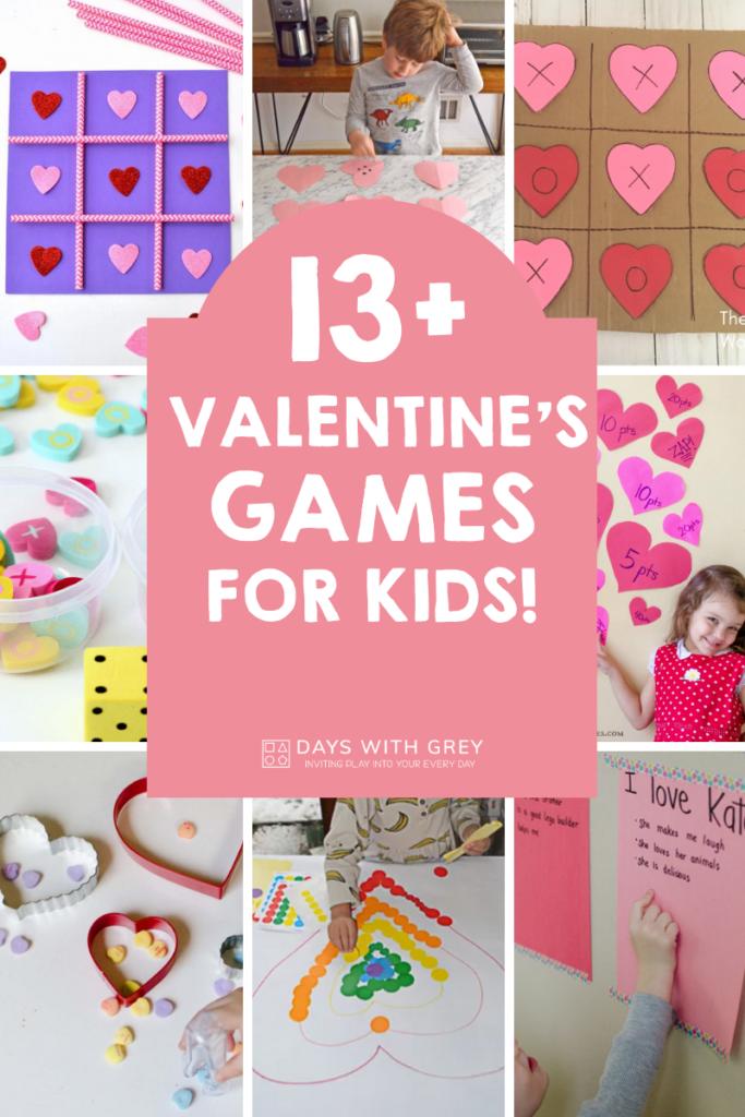 Valentine games for kids