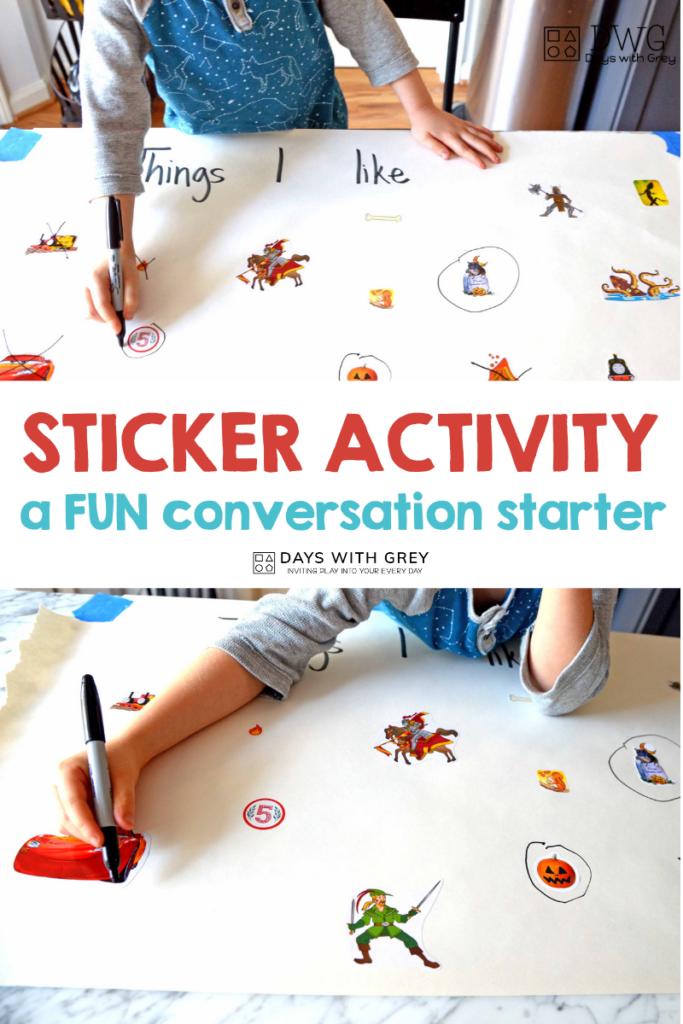 fine motor sticker activity