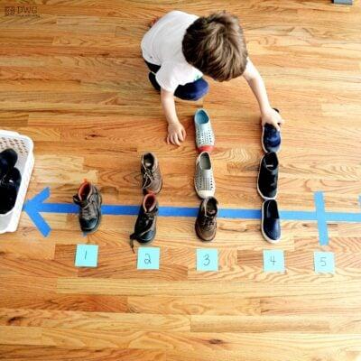 Easy Kindergarten math activity