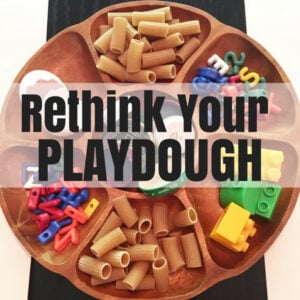 Rethink Your Playdough Ideas
