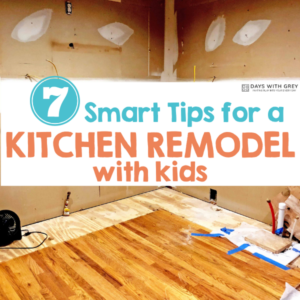 7 Tips Remodeling Your Kitchen with Kids