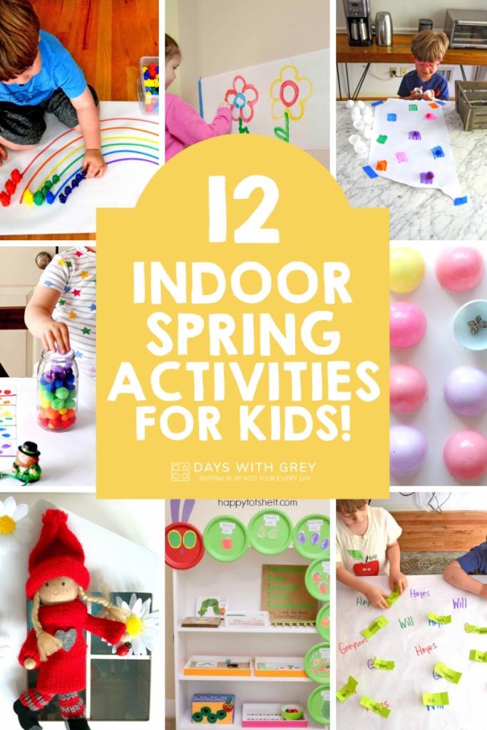 indoor spring activities for kids