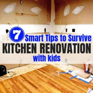 7 Tips for Your Kitchen Renovation with Kids