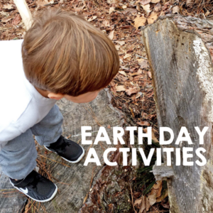 Earth Day Activity for Kids Using the Outdoors