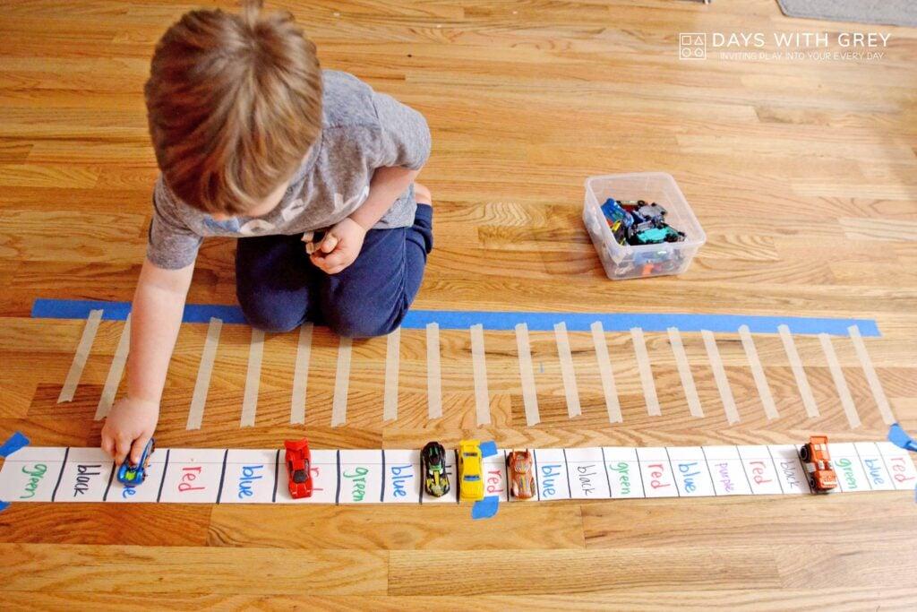 preschool color activity