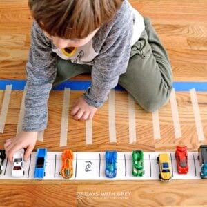 Color Words Preschool Activity