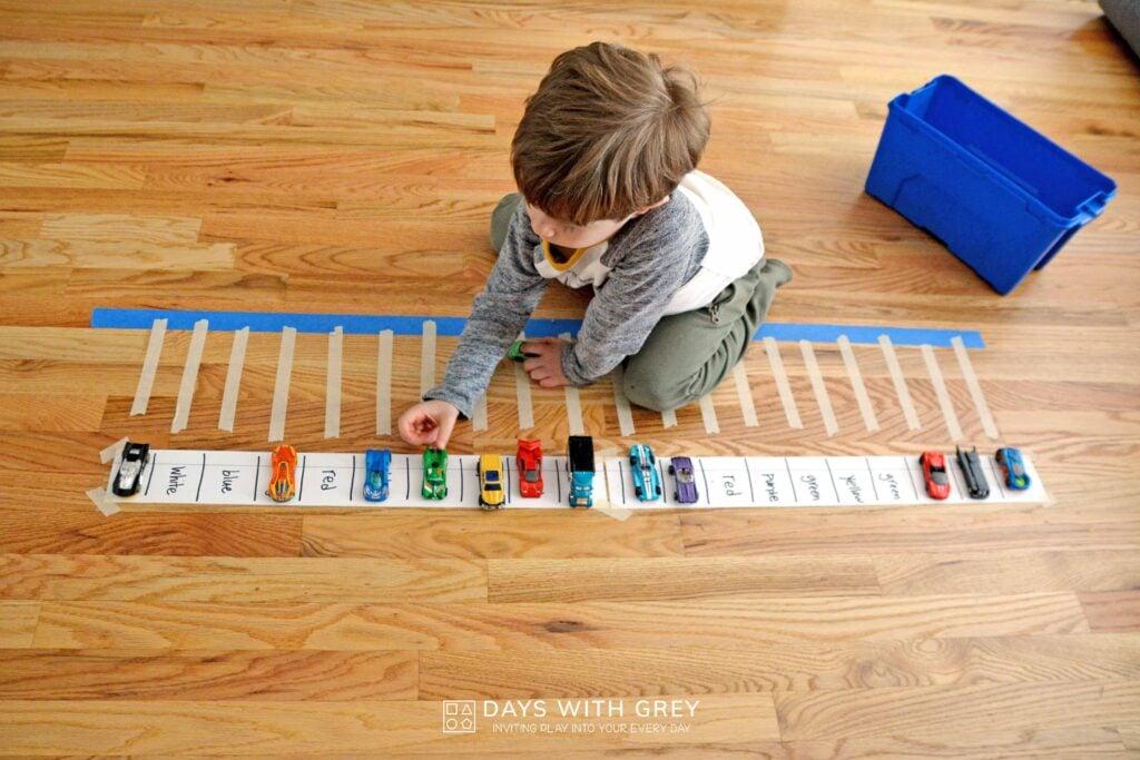 hands-on preschool idea