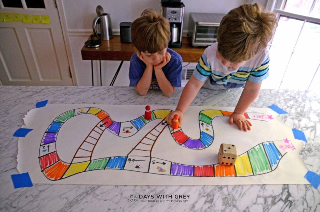 rainbow board game